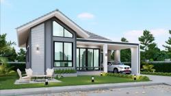 บ้านเดี่ยวสร้างใหม่เชียงราย ใกล้โรงพยาบาลโอเวอร์บรุ๊ค