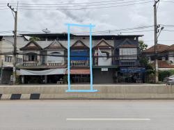 อาคารพาณิชย์ 3ชั้น มีดาดฟ้า ติดถนนโชตนา ใกล้ชุมชน ขายด่วนนน เจ้าของขายเอง