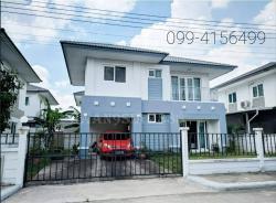 บ้านเดี่ยว 2ชั้น หมู่บ้านคุณาภัทร6 ถนนกาญจนาภิเษก แยกบ้านกล้วย -ไทรน้อย ต.พิมลราช อ.บางบัวทอง จ.นนทบุรี